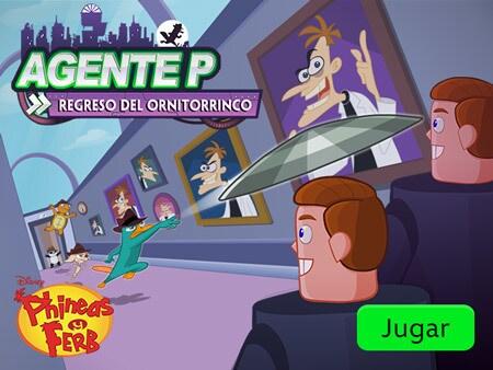 Phineas Y Ferb Agente P Regreso Del Ornitorrinco Disney Lol