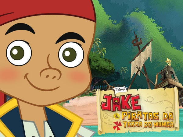 Jake e o Piratas da Terra do Nunca