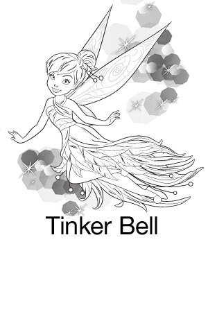 Printable - Tinker Bell