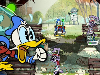 Donald Duck Hydro Frenzy'de