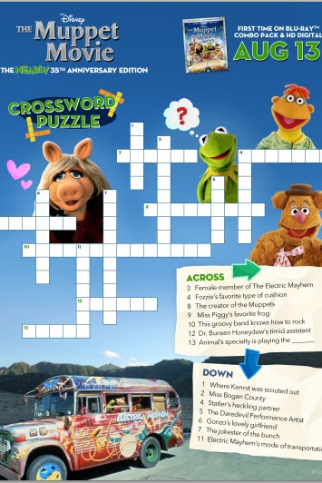The Muppets Crossword #2