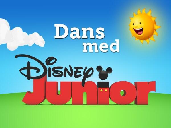 Dans med Disney Junior