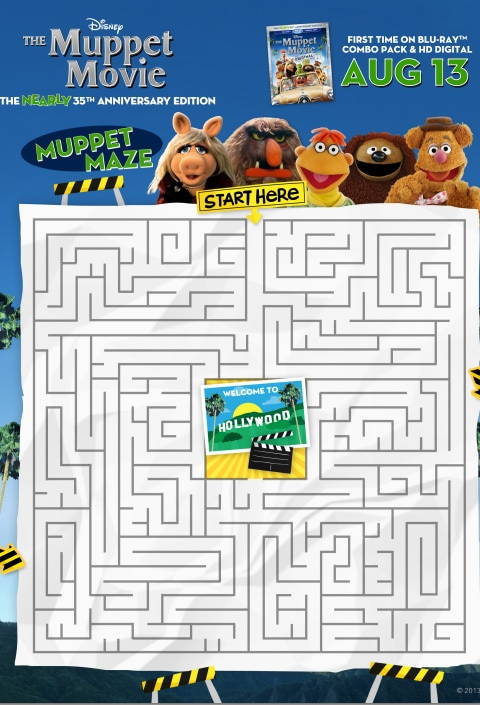 The Muppets Maze