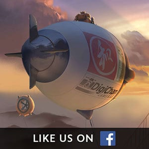 Big Hero 6 Social Asset - Facebook