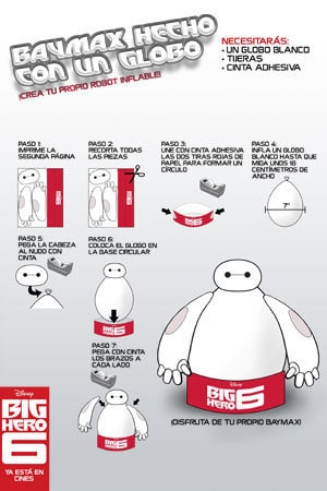 Baymax Balloon activity