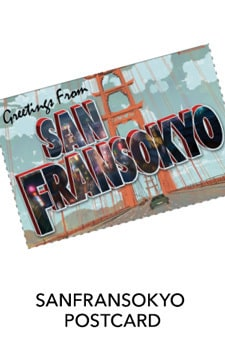 Big Hero 6 - San Fransokyo Postcard