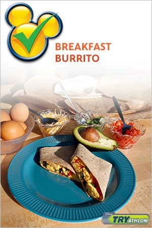 TRYit Recipe - Breakfast Burrito