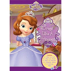 Sofia the First: Dress Like A Princess Dress Up Book