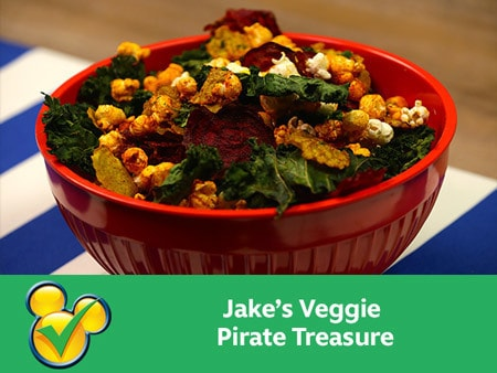 Jake's Veggie PirateTreasure