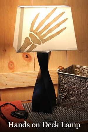 Hands On Deck Lamp