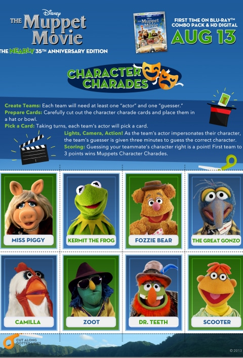 The Muppets Charades