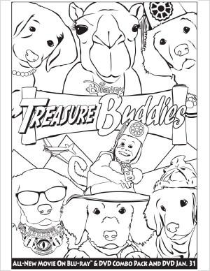 Treasure Buddies Activity Sheets