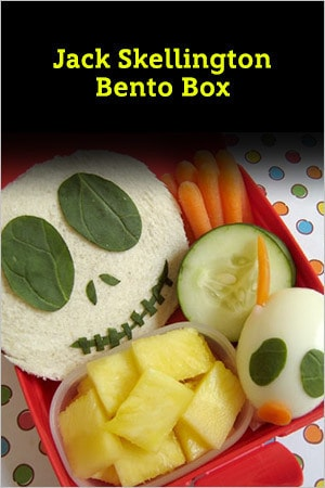 Jack Skellington Bento Box