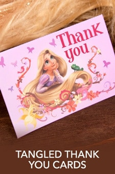 Rapunzel Thank You Cards