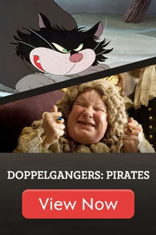 Disney Dopplegangers: Pirates Edition