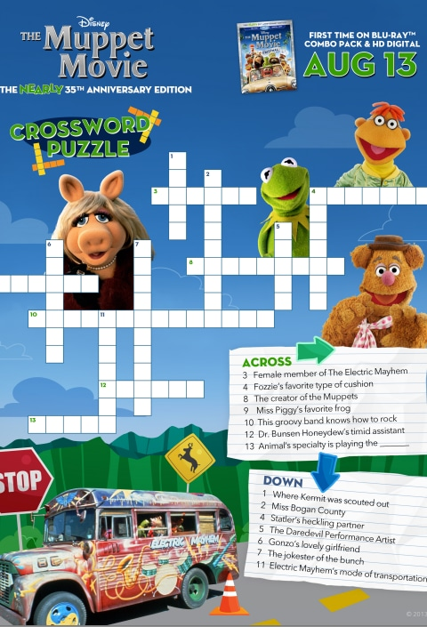 The Muppets Crossword #1