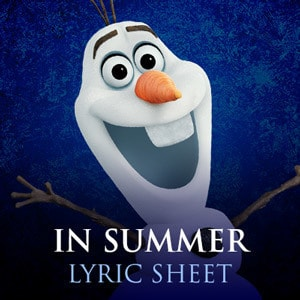 In Summer Song Lyrics