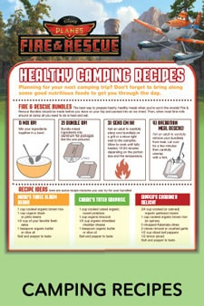 Planes Camping Recipes