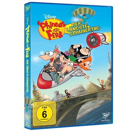 Disney Phineas und Ferb - Vol 3  Der längste Sommertag