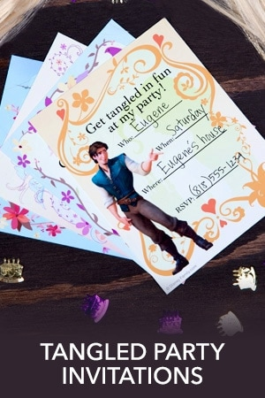 Tangled Party Invitations