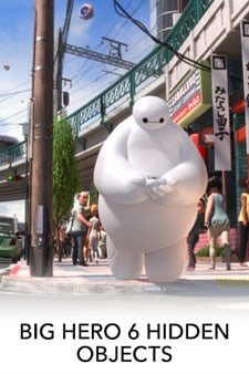 Big Hero 6 - Hidden Objects