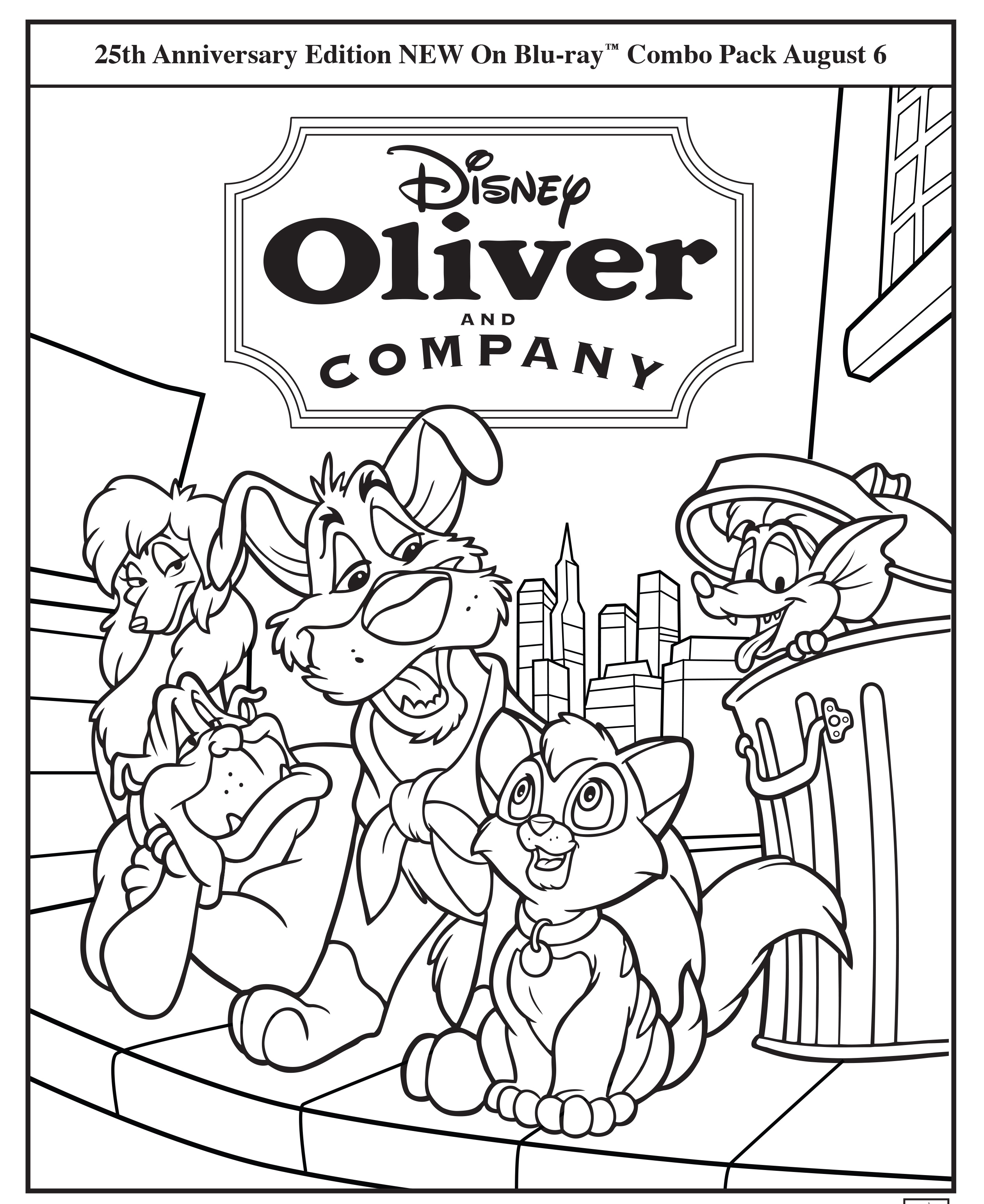 oliver and company disney movies
