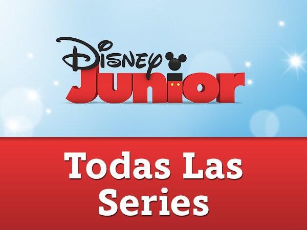 Todas las series de Disney Junior