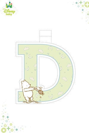 Winnie the Pooh Bunting - D