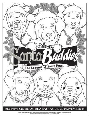 Santa Buddies Activities