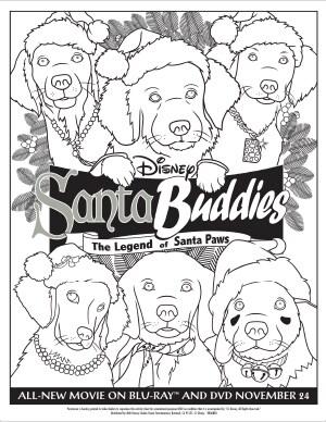 Santa Buddies Activities