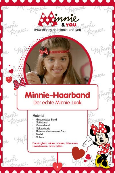 Minnie & You - Haarband