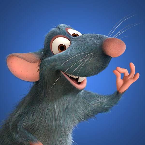 Ratatouille Characters Disney Movies