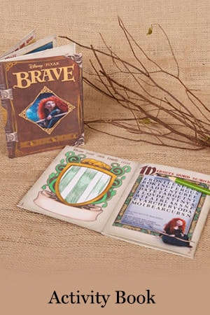 Brave Activity Book