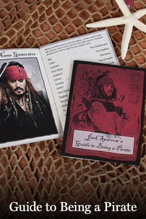Jack Sparrow's Guide To Being A Pirate