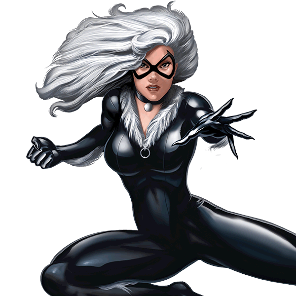 Spiderman Games Black Cat