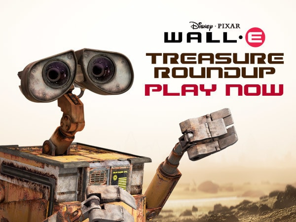 WALL-E - Treasure Roundup