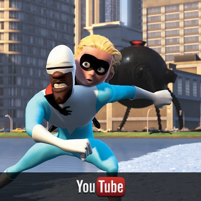 The Incredibles on YouTube