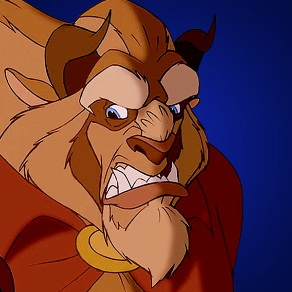 the Angry beauty beast beast and from