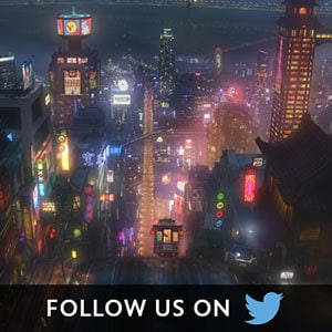 Big Hero 6 Social Asset - Twitter