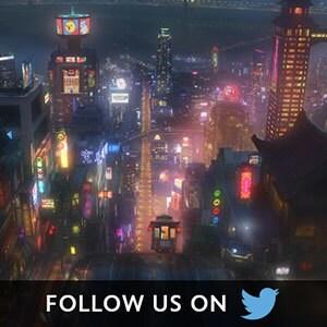 Big Hero 6 Social Asset - Twitter