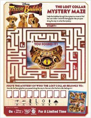 Treasure Buddies Mystery Maze