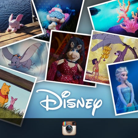 Disney på Instagram