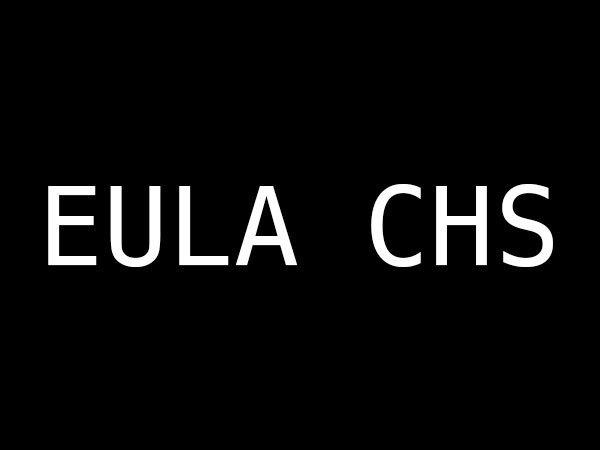 EULA CHS