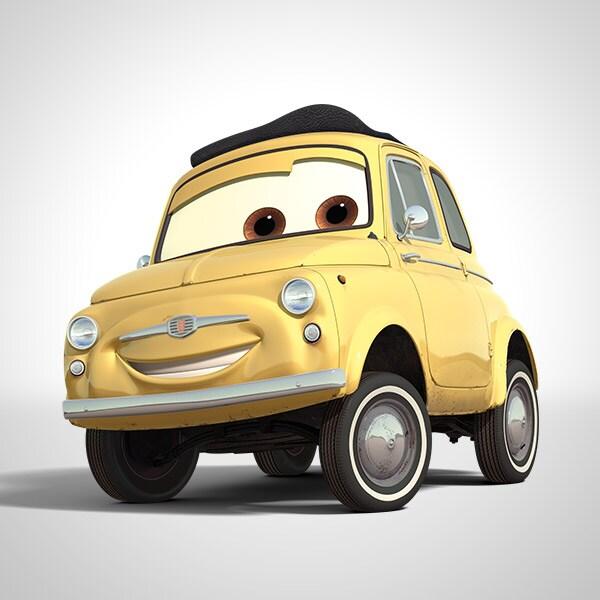 Luigi Characters Disney Cars - Cars cars
