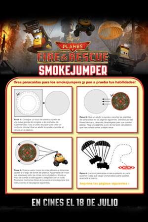 Smokejumper Parachute