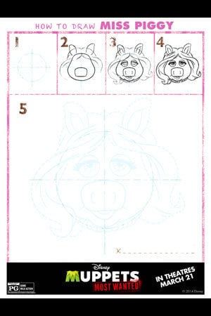 MMW - Activity - Draw Miss Piggy