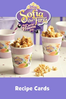 Sofia the First - The Curse of Princess Ivy - Activity - Recipe Cards