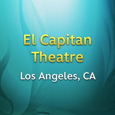 Los Angeles, CA - El Capitan Theatre