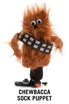 Chewbacca Sock Puppet