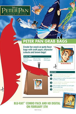Peter Pan Activity: Grab Bags
